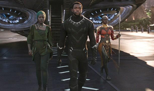 Szene aus Black Panther Film