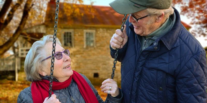 idosos juntos na França